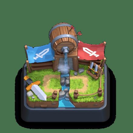 clash royale barbarian deck arena 12